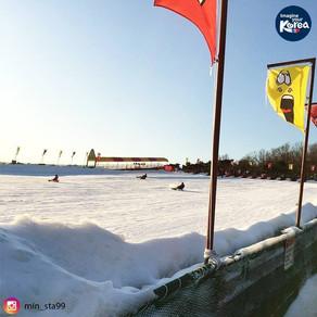 เล่นเลื่อนหิมะที่สวนสนุกโซลแลนด์