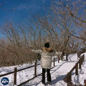 อุทยานแห่งชาติด็อกยูซานในฤดูหนาว