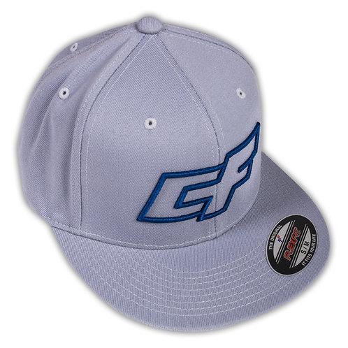 CRAZYFLY Logo hat grey