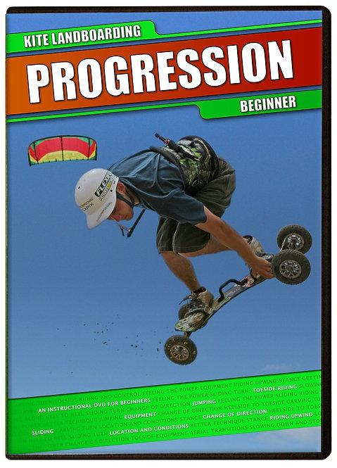 PROGRESSION DVD KITE LANDBOARDING BEGINNER