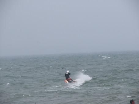 5月16日小松海岸カイトボード