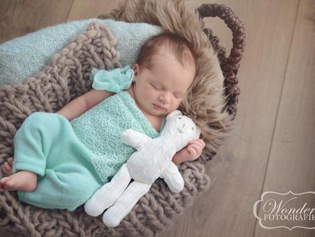 Newborn Fotoshoot Sophie uit Lelystad