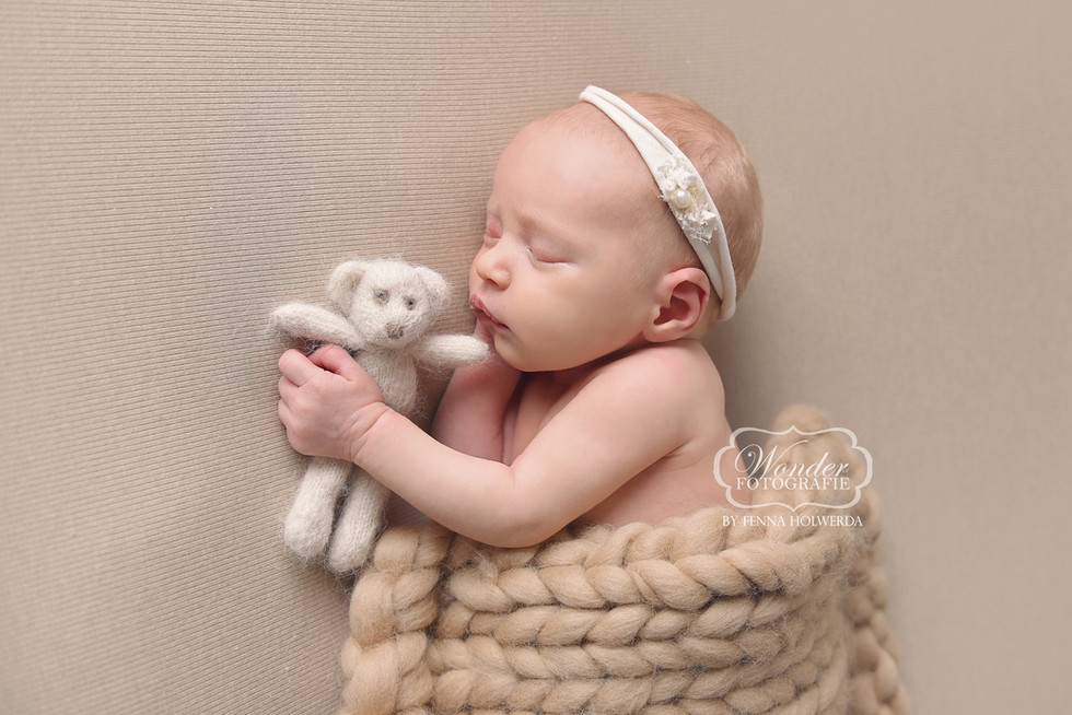 12 Newborn Fotoshoot baby fotografie fot