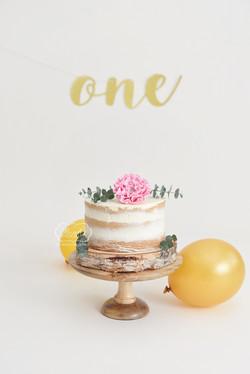 meisje Boho cake smash taart cake smash fotoshoot photo shoot puur naturel