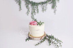 boho cake smash botanical photo shoot fotoshoot puur simpel wit Wonder Fotografier Almere