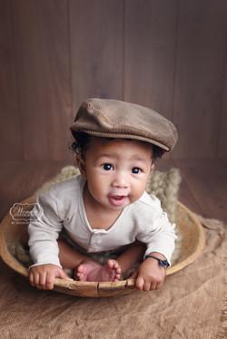 3 baby fotoshoot jongen boy fotografie photo shoot nederland sitter sessie