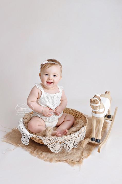 1 Sitter Sessie babyfotoshoot baby shoot