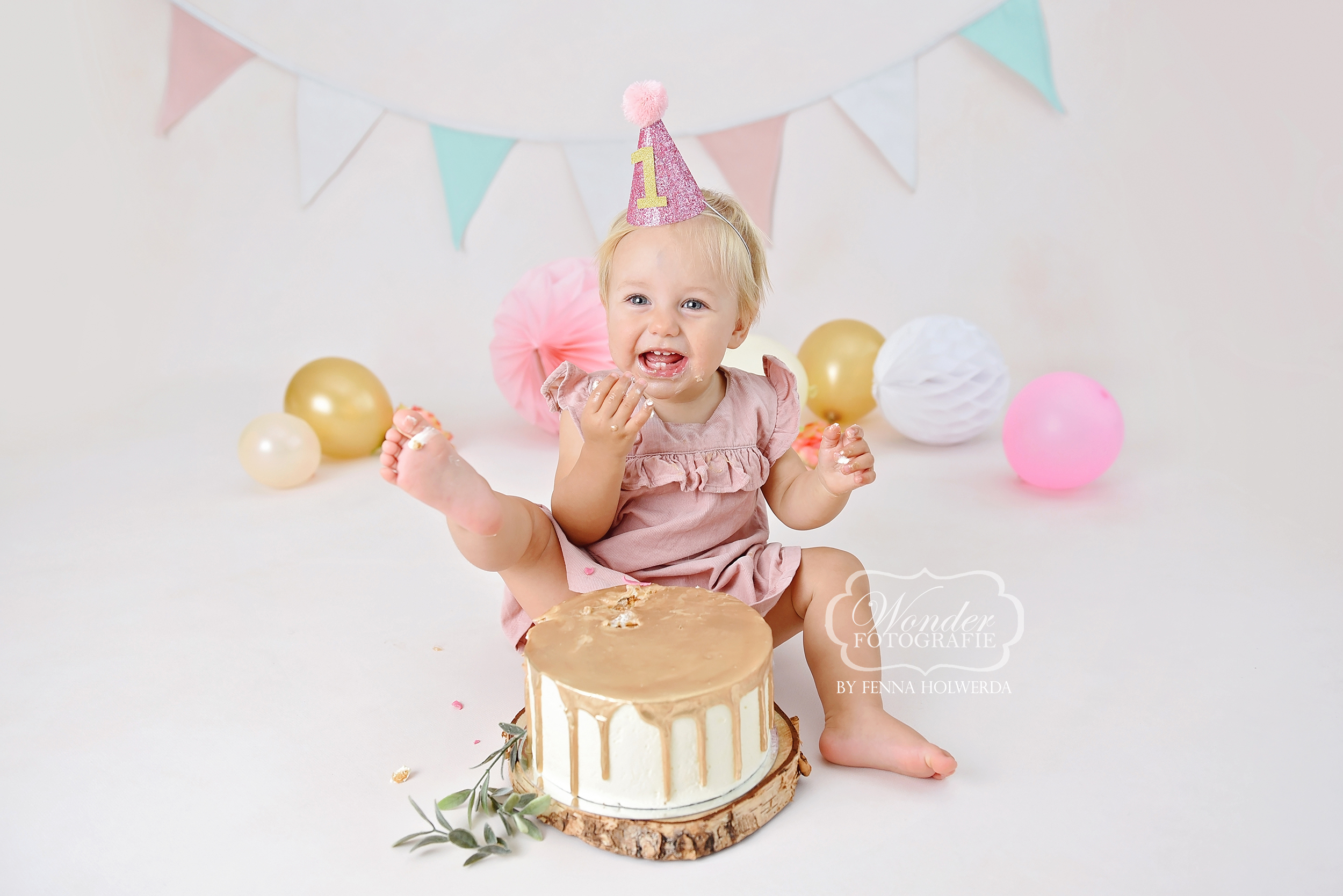 6 Cake Smash Fotoshoot baby fotograaf ph