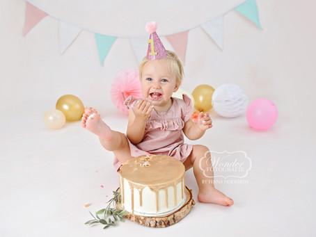 Cake Smash Verjaardag Fotoshoot