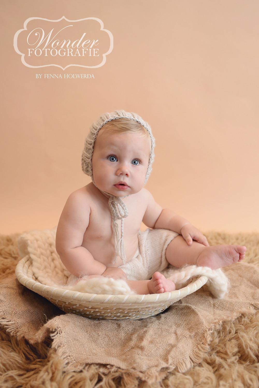 Sitter Session Zitter Sessie Fotoshoot Babyfotoshoot Almere Baby 8 maanden Zelfstandig zitten