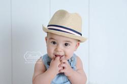 Sitter Sessie babyfotoshoot jongen boy fotoshoot photoshoot baby 5