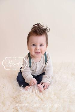 Sitter Session Babyfotoshoot Zitten