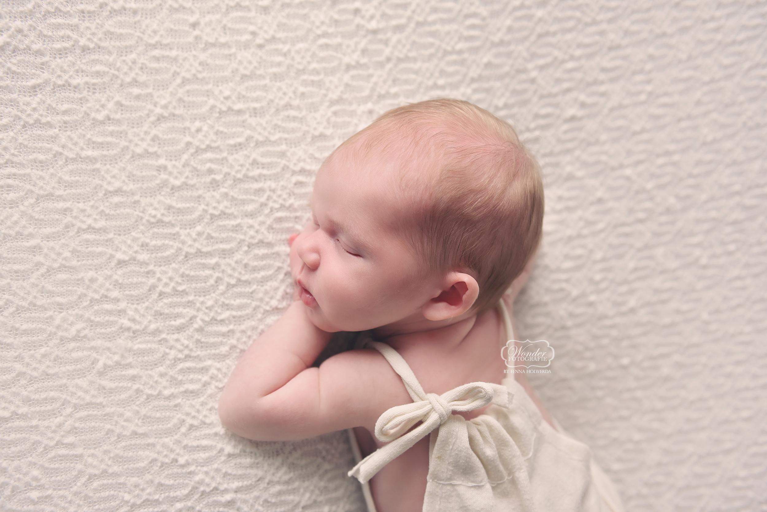 Newborn baby fotoshoot fotograaf