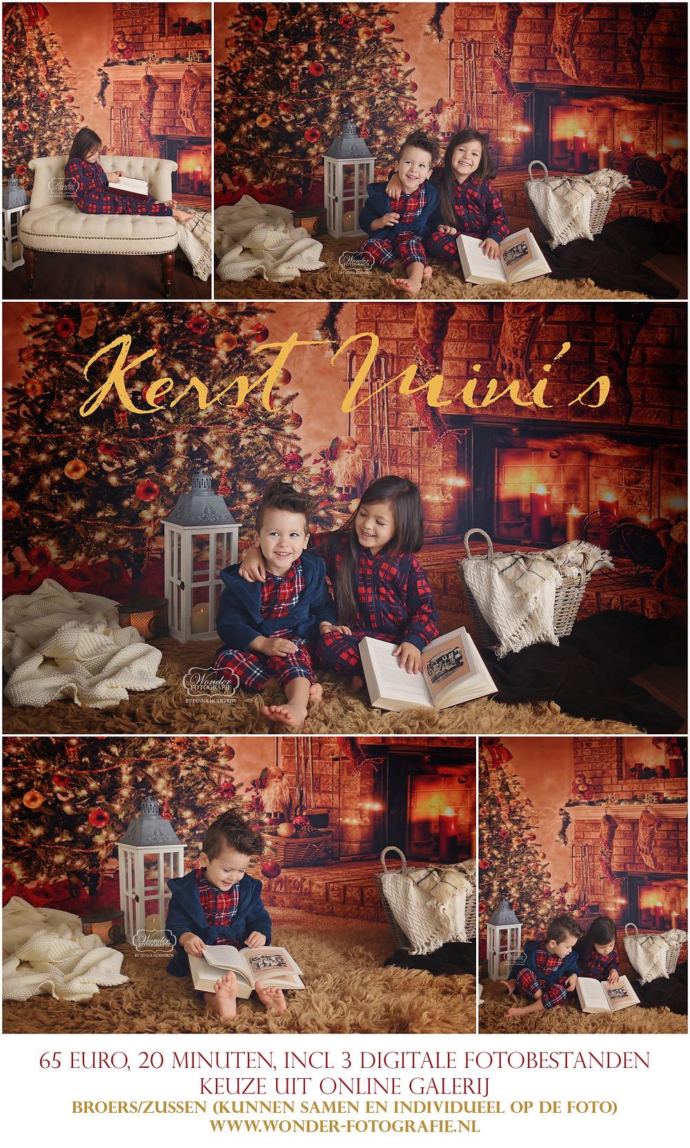 kerst mini sessie fotoshoot shoot studio kerstkaart almere