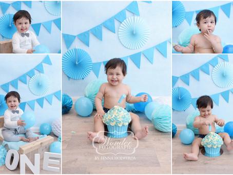 Cake Smash Fotoshoot Oliver