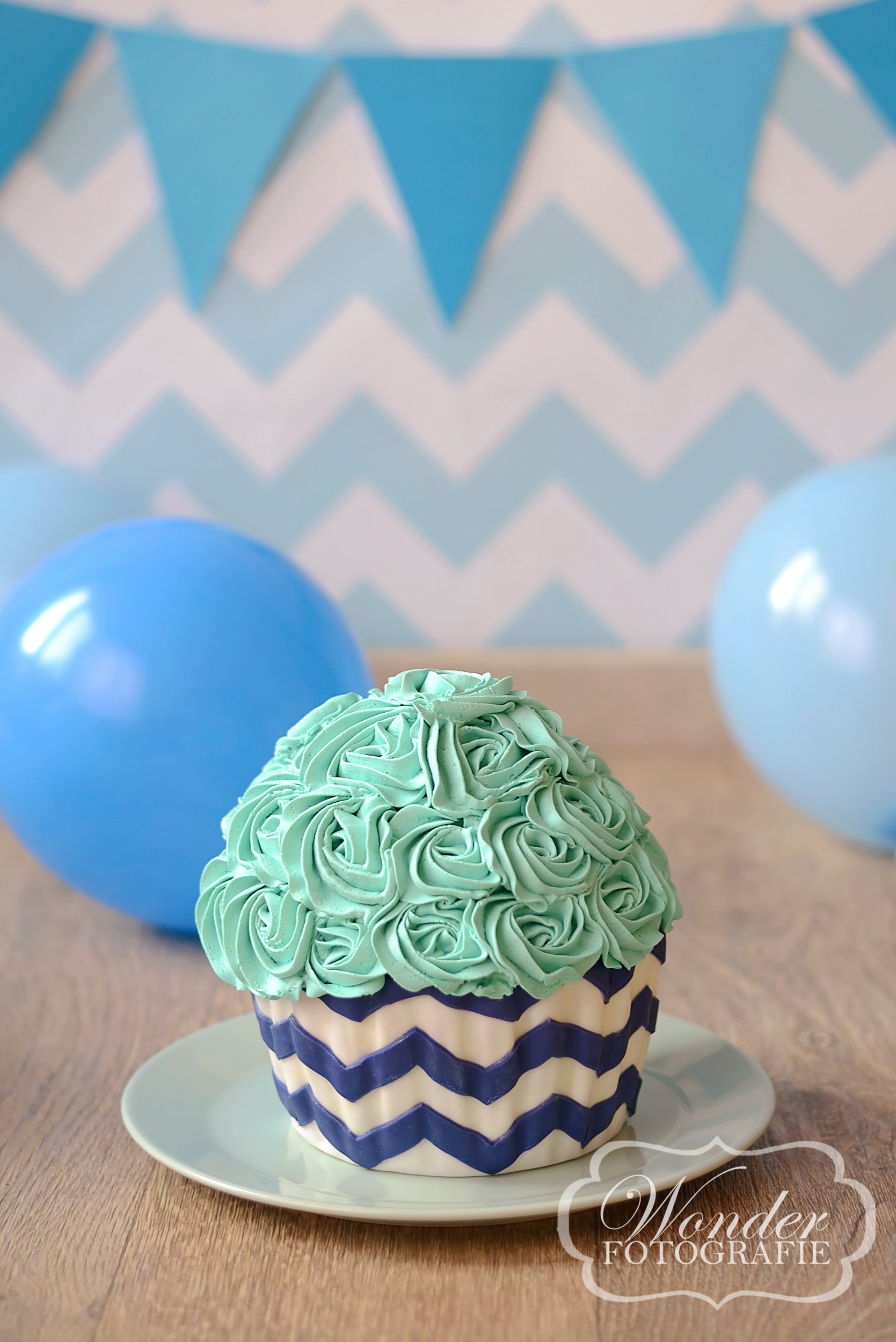 Cake Smash Chevron - Wonder Fotografie