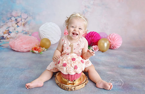 Cake smash baby fotoshoot fotograaf frie