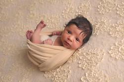04 Newborn Fotoshoot baby boho bohemian naturel puur shoot studio overijssel friesland