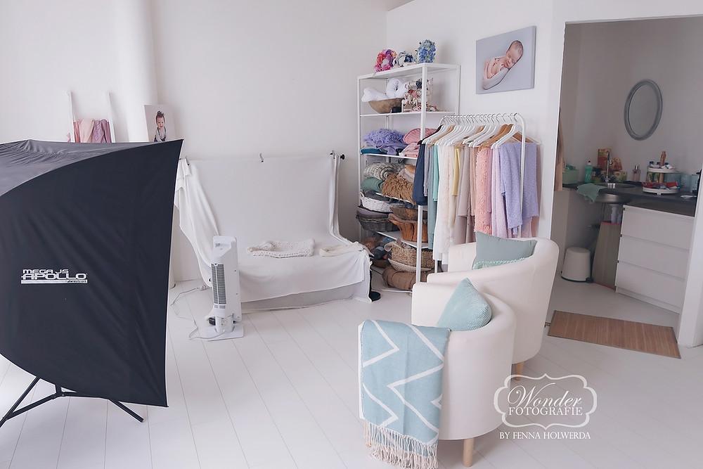 Newborn fotostudio fotoshoot foto baby studio Almere Fenna Holwerda