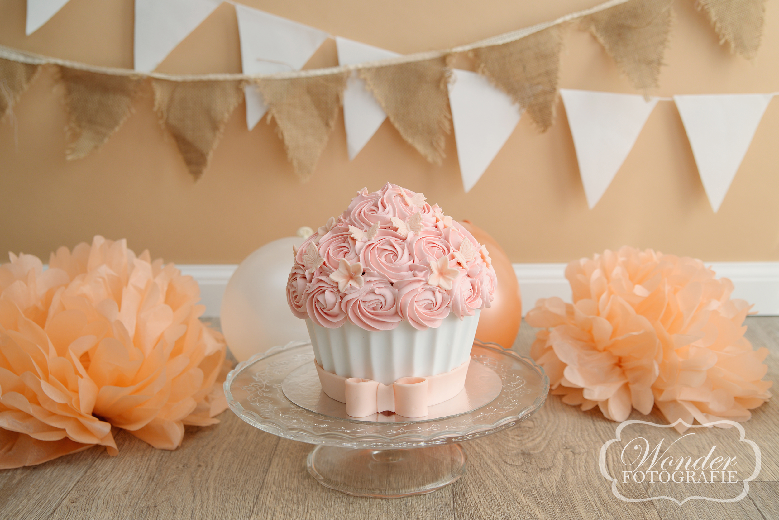 Cake Smash taart fotoshoot