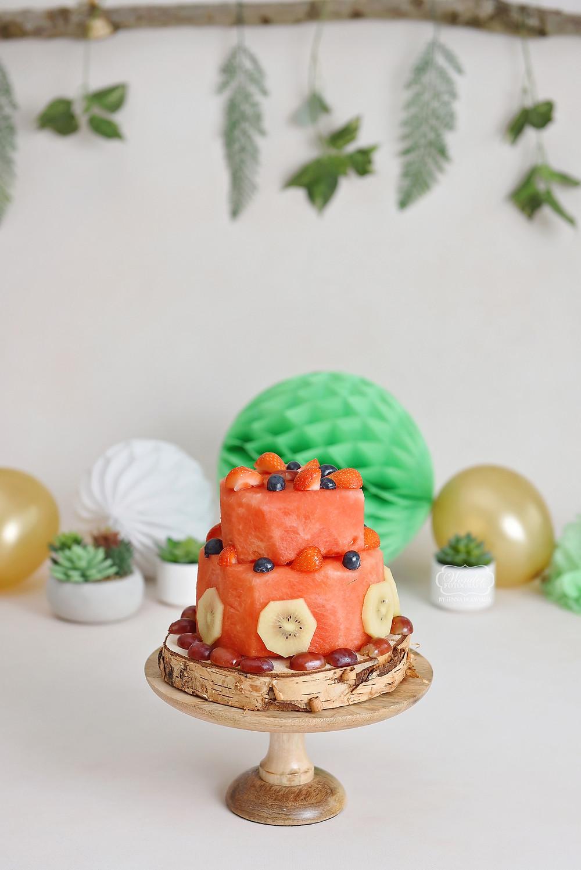 cake smash fotoshoot shoot baby fruit taart zonder lactose gluten suikervrij