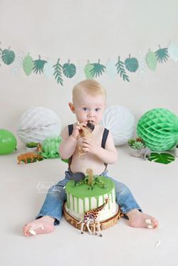 cake smash fotoshoot shoot nederland naturel boho