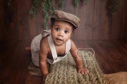 6 Sitter Sessie Fotoshoot baby shoot photoshoot6 maanden half jaar
