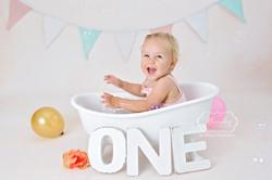 1 Cake Smash Fotoshoot baby fotograaf ph