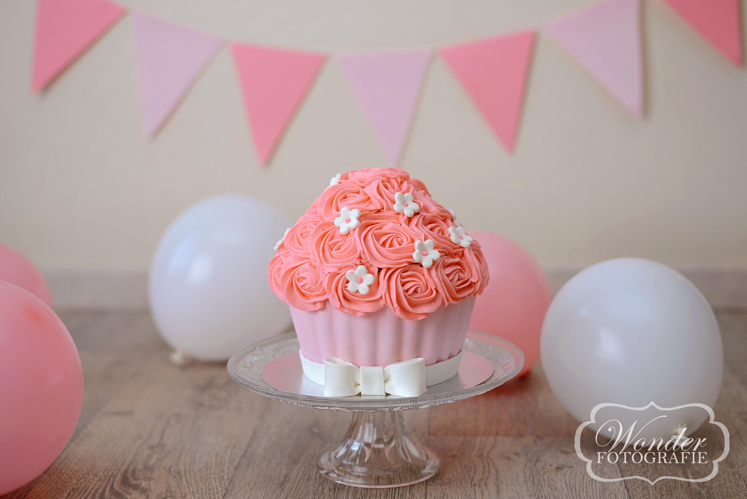 Cake Smash RozeCreme - Wonder Fotografie
