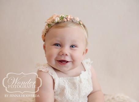Sitter Session - Babyfotoshoot 8 maanden