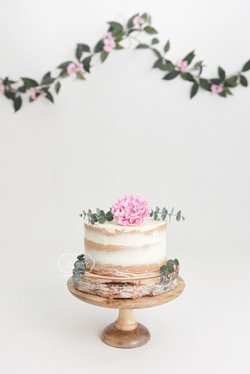 meisje Boho cake smash taart cake smash fotoshoot photo shoot