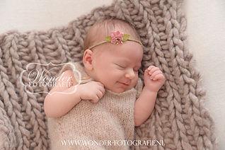 Newborn Fotoshoot Babyfotoshoot Geboortekaartje
