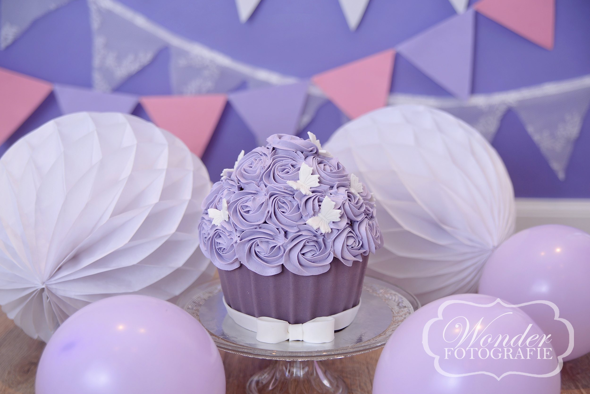 Cake Smash taart Fotoshoot Almere