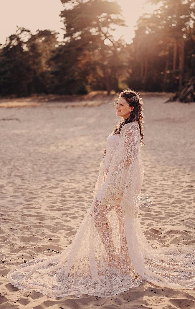 18 fotoshoot zwanger zwangerschapsshoot zandvlakte boho bohemian overijssel puur naturel w