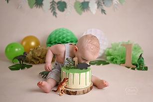 cake smash fotoshoot taart shoot baby ee