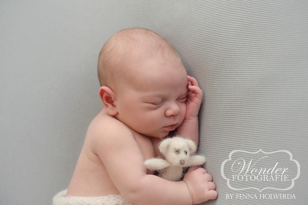 Newborn Fotoshoot Almere Photoshoot Babyfotoshoot Wonder Fotografie Geboortekaartje Foto