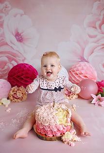 Cake Smash Fotoshoot Kyra 11-9-2020 Wond