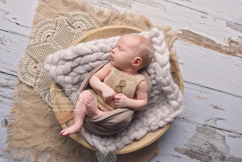 6 Newborn Fotoshoot baby fotografie foto