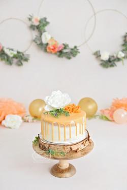 Boho Cake Smash taart Fotoshoot Perzin