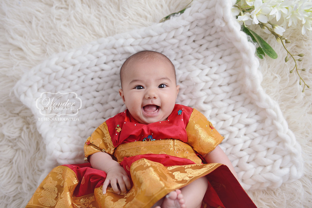 100 dagen fotoshoot 100 days old babyshoot Asian tradition photoshoot photo shoot baby