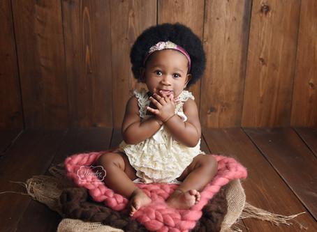 Baby Mijlpaal Fotoshoot Meisje