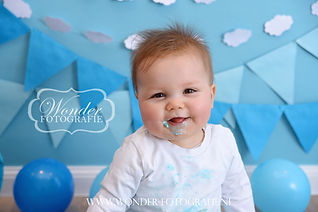 Cake Smash Fotoshoot Verjaardagsfotoshoot
