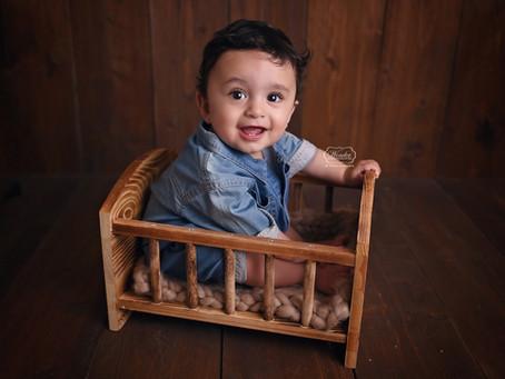Baby Fotoshoot in de fotostudio