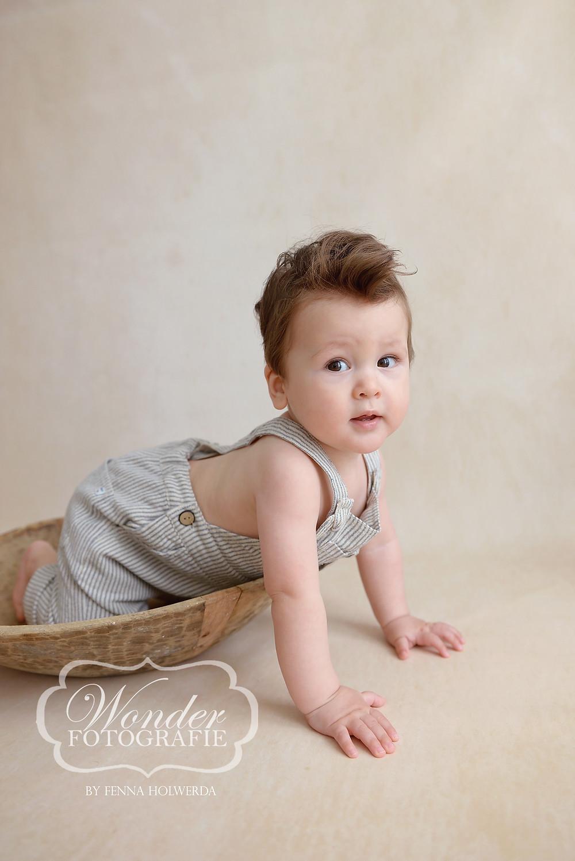 Sitter Sessie Sitter Session Babyfotoshoot 8 of 9 maanden