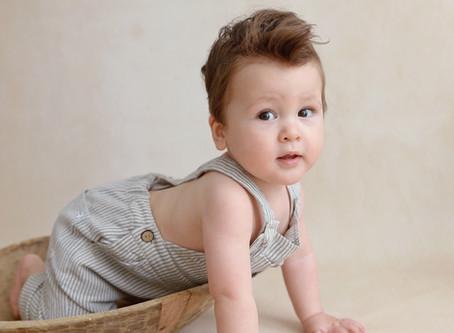 Sitter Sessie - Babyfotoshoot 8 maanden of 9 maanden