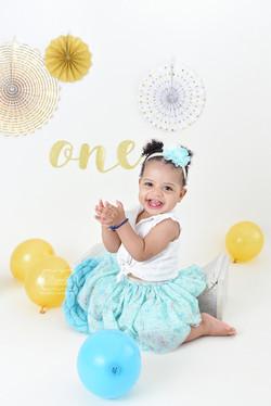 11 verjaardag Cake Smash Fotoshoot boho naturel licht puur baby photo shoot almere