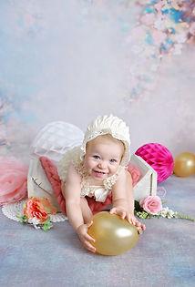 cake smash baby fotoshoot verjaardag kam