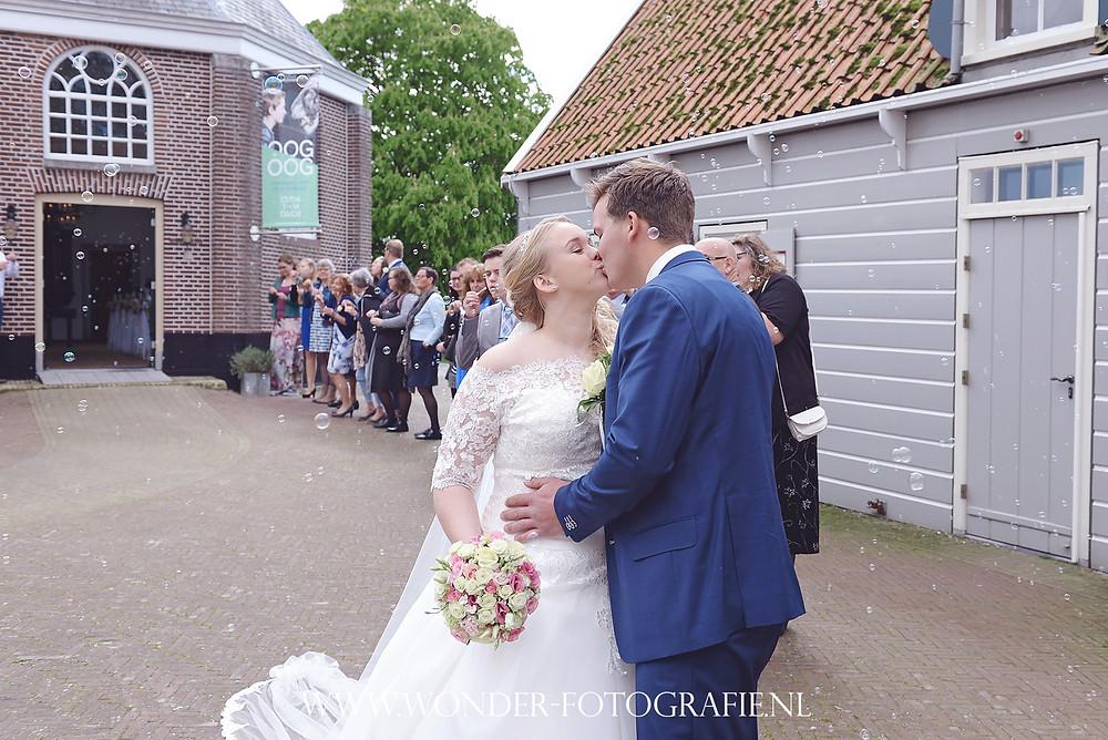 Preview bruiloft Schokland trouwen op schokland
