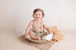 babyshoot baby fotoshoot photoshoot half jaar 6 maanden sitter sessie 3