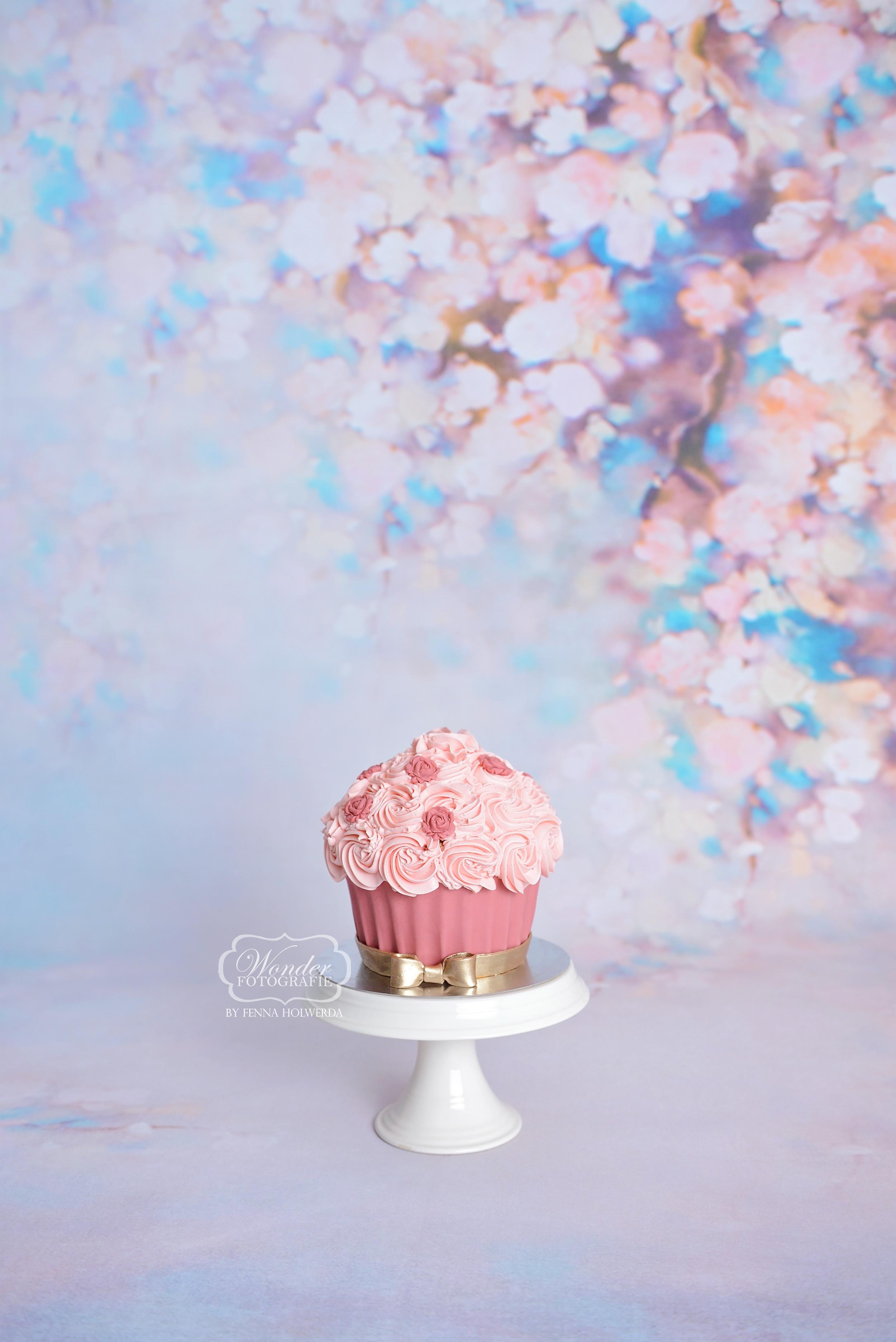 bloemen vintage floral bloesem cake smas